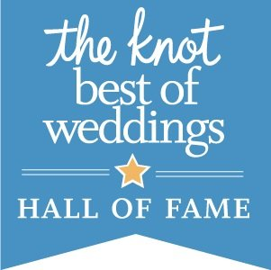 "Winner of The Knot ""Best of Weddings"" award for the 4th straight year!"